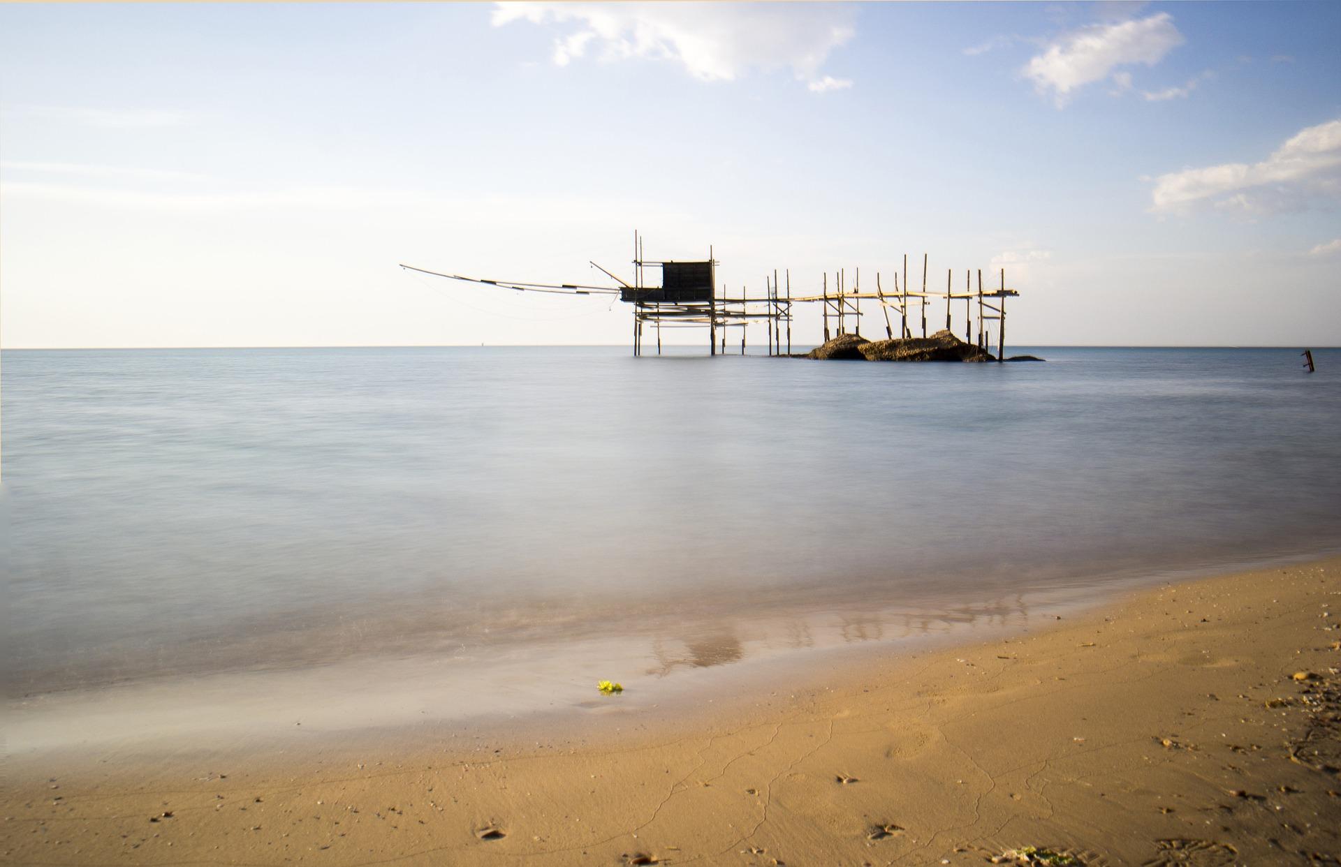 Trabocchi in Abruzzo | Macchine da pesca | Gabriele D'Annunzio