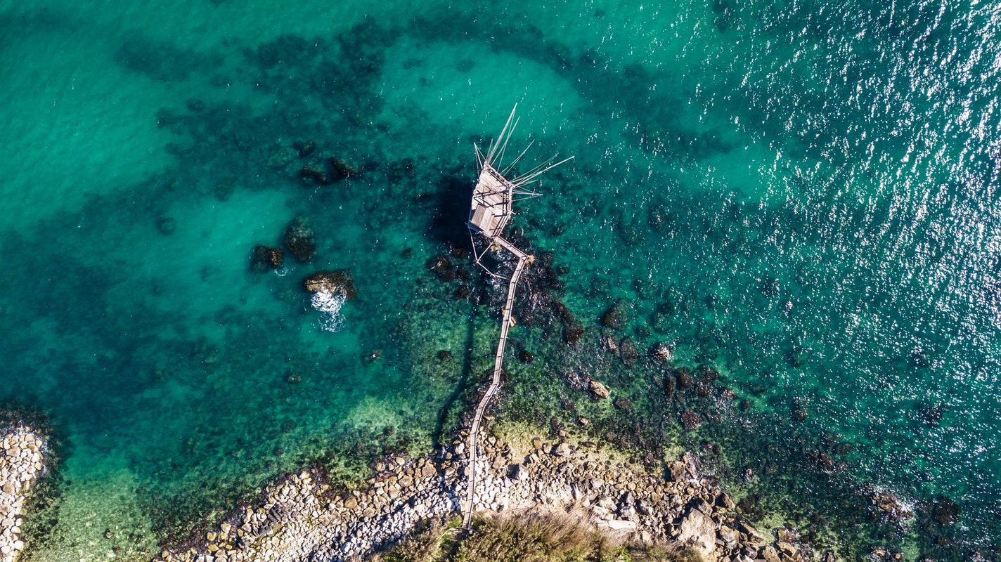 Trabocchi in Abruzzo | Macchine da pescara D'Annunzio